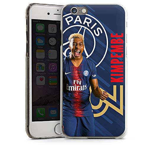 DeinDesign Apple iPhone 6 Coque Étui Housse Paris Saint-Germain Produit sous Licence Officielle Kimpembe