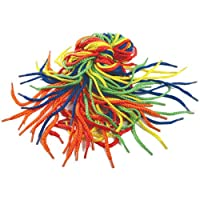 BCreativetolearn GC543 Be Creative Bright Threading Shoe Laces, Assorted Colours
