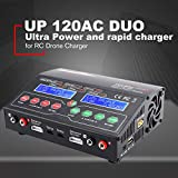 Lorenlli Fit Ultra Power Chargeur Equilibreur 110V / 220V Duo UP120AC pour Lilo/LiPo/Life/LiHV/Chargeur Nimh pour Drone RC