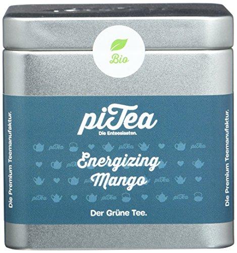 2b689004 Pi Tea Energizing Mango Dose, Grüner Tee, Bio, Teestation, natürlich und  vegan
