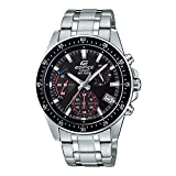 Casio Edifice Analog Black Dial Men's Watch - EFV-540D-1AVUDF (EX390)