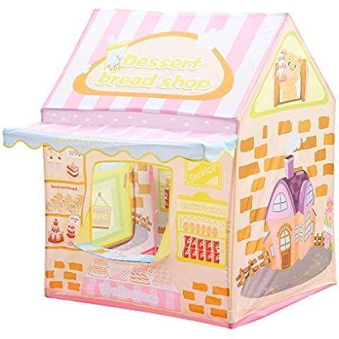 Excelvan - Tienda infantil de juego (tienda de pastel, 100 x 83 x 123cm)