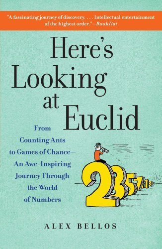 Here's Looking at Euclid: From Counting Ants to Games of Chance - An Awe-Inspiring Journey Through the World of Numbers by Bellos, Alex (2011) Paperback