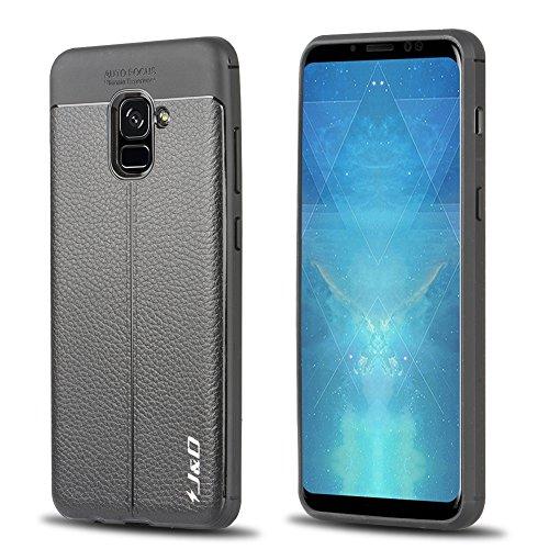 Kickstand Slim - Funda para Samsung Galaxy (incluye protector de pantalla de cristal templado) color three Talla:Samsung Galaxy S9 TrWgqN