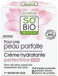 SO'BiO étic Crème Hydratante Perfectrice pour une Peau Parfaite 50 ml