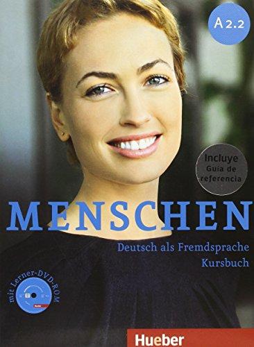 MENSCHEN A2.2 Kb+DVDR+XXL (alum+Guia) por Charlotte Habersack