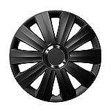 16 Zoll UNIVERSAL Radkappen - VIPER Black (Schwarz) - passend für fast alle Fahrzeugtypen