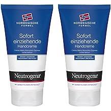 Lote de 2 tubos de crema Neutrogena rápida absorción 75ml Mano