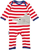 Toby Tiger Shark Romper Baby Boy's Grow