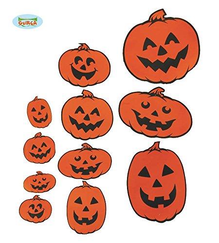 Für Den Cut Halloween Kürbis Out (30 Teile CUTOUTS - KÜRBISSE - , Halloween Deko Raumdeko Wanddeko)