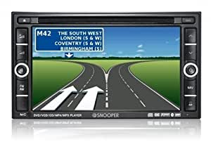 "Snooper AVN S9000 Ventura EU - Motorhome 6.2"" Double DIN Touchscreen Sat Nav & Speed Camera Locator, with Bluetooth handsfree and iPod connectivity.Now includes Junction View, Lane Guidance and information on 20,000 campsites and motorhome stopovers in 31 countries!"