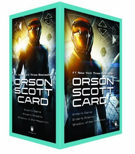 Ender's Game (Movie Tie-In) Boxed Set I: Ender's Game, Ender's Shadow, Shadow of the Hegemon (Ender Universe) by Card, Orson Scott (2013) Mass Market Paperback