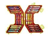 #8: Camlin Kokuyo Jumbo Wax Crayon Set - 24 Shades (Multicolor)
