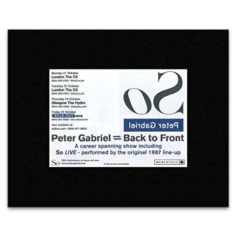 PETER GABRIEL - Sold Out 2013 Matted Mini Poster - 21x13.5cm