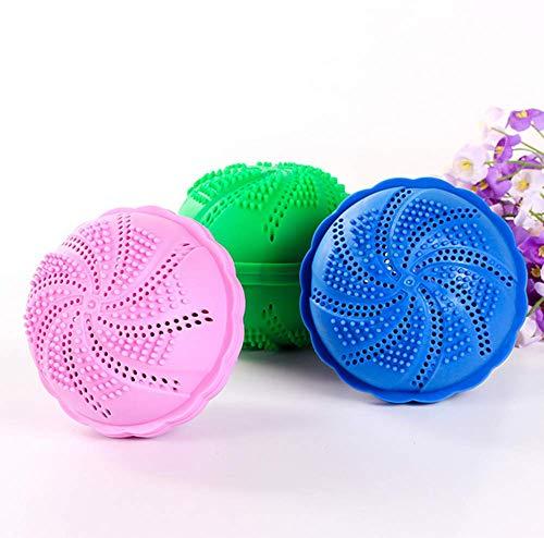 M&M 3 Stück Bambus Holzkohle Wäsche Ball Magic Ball Dekontamination Anti-Wickel Wäsche Ball Wasch Ball Große Waschmaschine Reinigungs Ball -