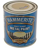 Hammerite HAM6701083 250ml Metal Paint - Smooth Gold