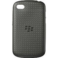 BlackBerry Soft Shell Case Cover for BlackBerry Q10 - Black