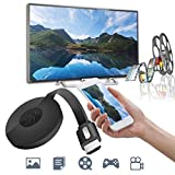 #6: NALMAK Mirascreen G2 4 Chromecast Digital HDMI Media Video Streamer 1080P WiFi Dongle for iOS/Android (Black)