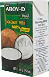 100% Coconut Milk 8.5 Oz 3 x 250 ml Aroy-D