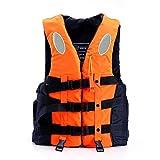 Schwimmwesten Rettungswesten für Kinder und Erwachsene, verschiedene Größen und Farben (Orange,...