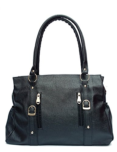 Vintage Women's Handbag(Black,Bag 264)  available at amazon for Rs.395