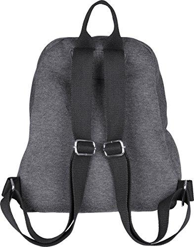 Urban Classics - Sweat Backpack, Zaini Unisex - Adulto Multicolore (Charcoal/black)