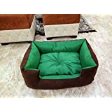PetsMaker Deluxe Pet Bed For Dogs And Cats Velvet Ultra-Soft Plush Solid Pet Sleepeer -medium