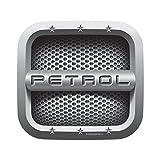 #7: Autographix Square Petrol Fuel Badge