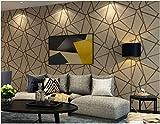 YUANLINGWEI Gestreifte Tapete Geometrische Muster Tapete Wohnzimmer Schlafzimmer Tv Hintergrundbild