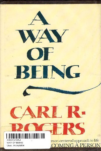 A Way of Being by Carl R. Rogers (1980-08-05)
