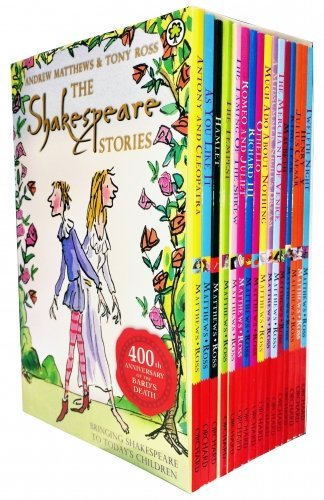 The Shakespeare Stories (Includes 16 books) by Andrew Matthews (2010-09-01)