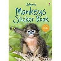 Monkey Sticker Book (Usborne Spotter