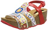 Desigual Women's Shoes_odisea Microrapport Sling Back Sandals