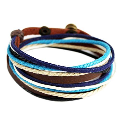 wild-wind-tm-de-nol-multi-rangs-bleu-tress-fermoir-bouton-pression-rglable-wrap-bracelet