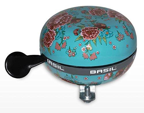 Basil Fahrradklingel Big Bell Bloom, Emerald Green, One Size, 50395