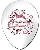 10 Luftballons Alles Gute zum Hochzeitstag , ca. 30 cm Durchmesser
