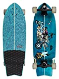 Quiksilver EGLSSTFREE-BMJ0 Skateboard Mixte Adulte, Multicolore