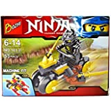 Powerpak Ninja Thunder Swordsman,Toy Building Figures 3D Puzzle For Ages 6+ (53+ Pieces) (101-2)
