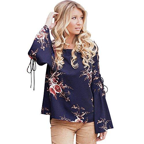 TianWlio Langarmshirt Damen Bluse T-Shirt Tops Sexy Frauen -