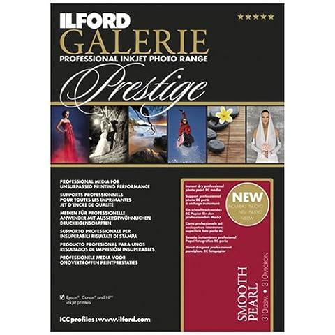 Ilford 2001743.0 Prestige Smooth Pearl Paper, 310g, 100 Blatt, 10 x 15 cm
