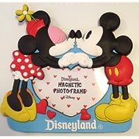 País De Disney Mickey & Minnie Mouse Kissing Magnetic Photo Frame – Valentine Love – Disney