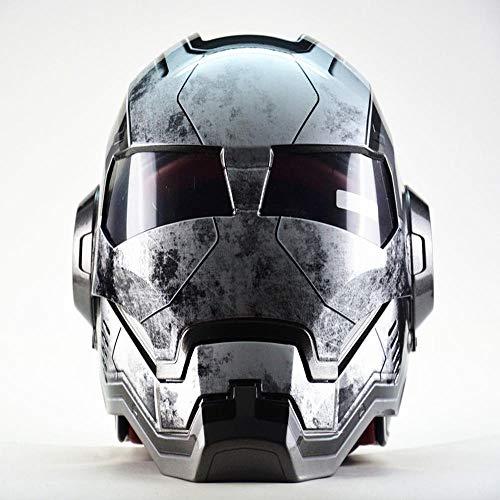 Marvel Avengers Iron Man Casco De Motocicleta Casco