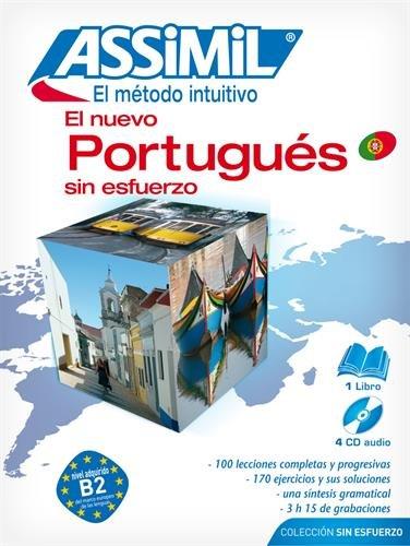El Nuevo Portugués Sin Esfuerzo (1 livre + coffret de 4 CD) (en espagnol)