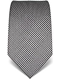 Vincenzo Boretti Cravate, pure soie, motif pied-de-poule