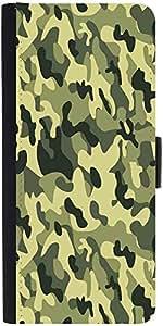 Snoogg Camo Green Military 2764 Designer Protective Flip Case Cover For Samsu...