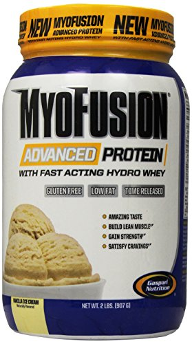 Gaspari Nutrition - Myofusion Advanced 2Lb Vanilla Cream - 51KrvjkHAxL