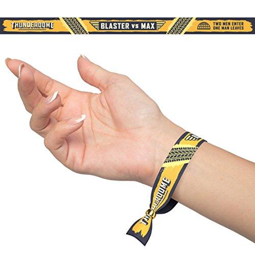Festivalbändchen Thunderdome - Stoff-armband Verschluss