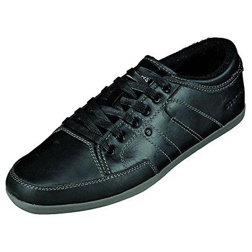 Dockers , Chaussures de ville à lacets pour homme Noir Noir Noir - Noir