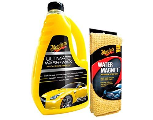 Preisvergleich Produktbild Meguiar's Ultimate Wash & Wax Autoshampoo mit Water Magnet Microfiber Drying Towel