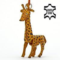 Jirafa Gina–Pequeño Jirafas de llaves colgante de piel, una idea de regalo para mujeres y hombres en el Zoo de accesorios, plástico animales de peluche, Steppe jirafa, Camello parder, indianisches camello, animales, Herradura Angola de jirafa, Cabo jirafa, Masái de jirafa, red jirafa, Uganda, África, jirafa Monos, Sophie